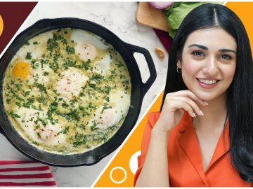Creamy Spinach Shakshuka Recipe with Sarah Khan - Food Fusion