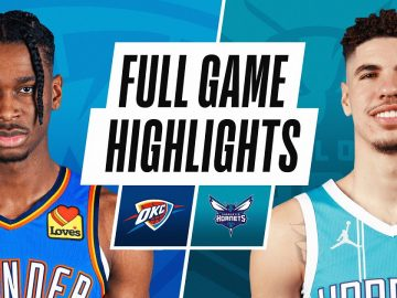 THUNDER at HORNETS | FULL GAME HIGHLIGHTS | December 26, 2020