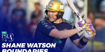 Shane Watson Boundaries | HBL PSL 2020 | MB2T