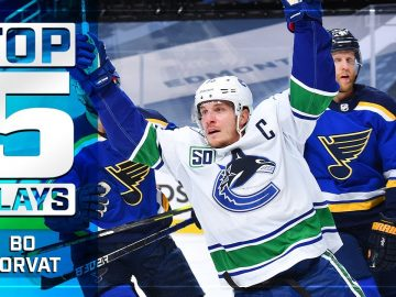 Top 5 of 2019-20: Bo Horvat