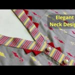 Kurti Front Neck Design with V Placket Easy Cutting and Stitching || Placket Kurti@RR Fashion Point 3