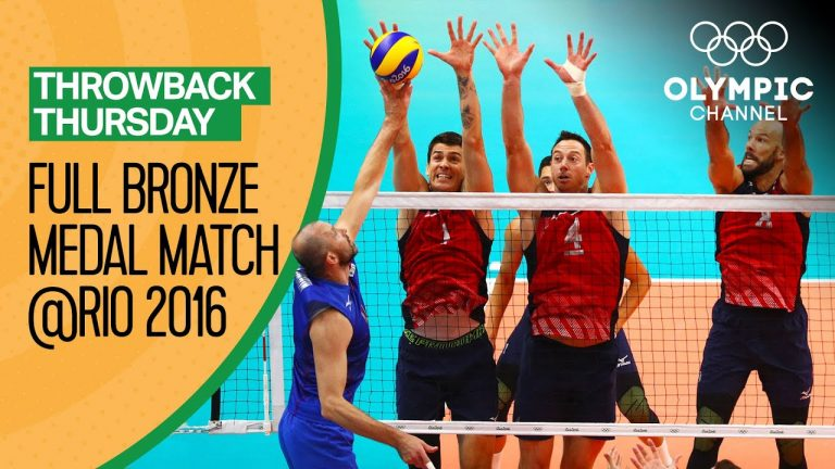 USA vs. Russia – Full Volleyball Match - Rio 2016 | Throwback Thursday