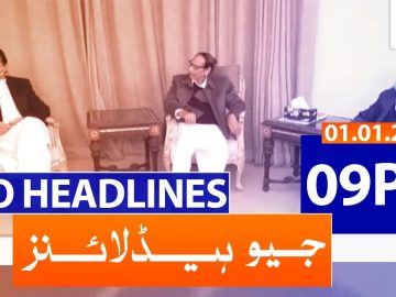 Geo Headlines 09 PM | 1st January 2021