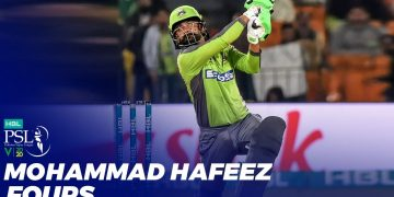 Mohammad Hafeez Fours | HBL PSL 2020 | MB2T