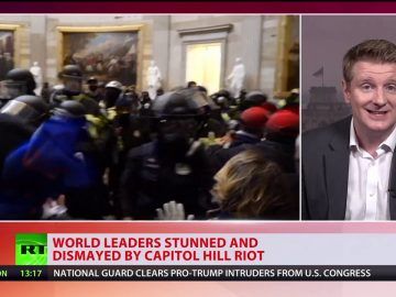 World leaders stunned and dismayed by Capitol Hilll riots