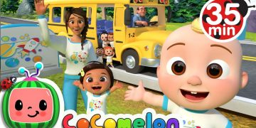 Wheels On The Bus (School Edition) + More Nursery Rhymes & Kids Songs - CoComelon 20