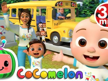 Wheels On The Bus (School Edition) + More Nursery Rhymes & Kids Songs - CoComelon 28