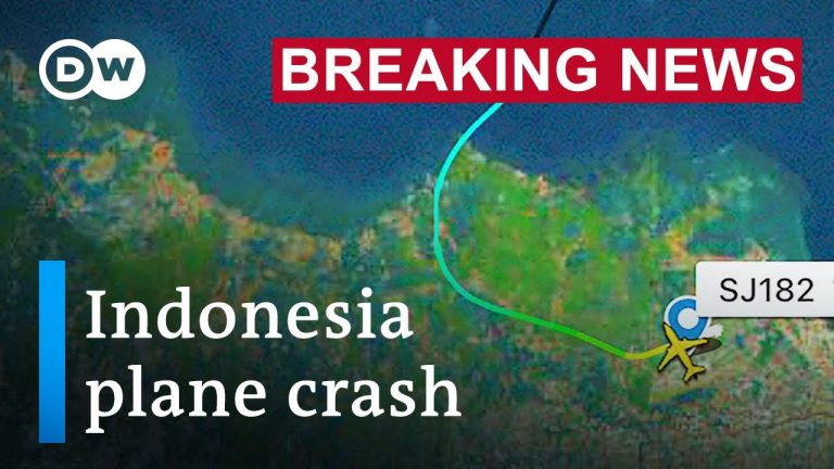 Indonesian Boeing 737 airplane loses contact after takeoff | DW News