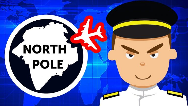 Why Planes Sometimes Fly Over the North Pole