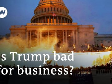 What's the economic fallout of the Capitol Hill riot? | DW Business