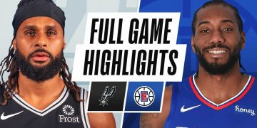 SAN ANTONIO SPURS at LA CLIPPERS   FULL GAME HIGHLIGHTS   JANUARY 5, 2021