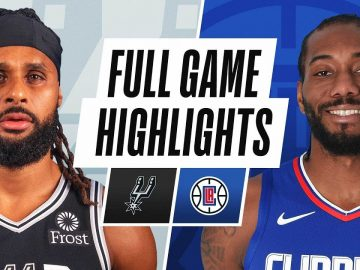 SAN ANTONIO SPURS at LA CLIPPERS | FULL GAME HIGHLIGHTS | JANUARY 5, 2021
