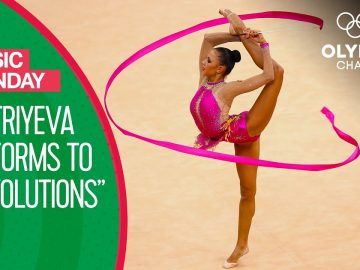 Darya Dmitriyeva's Energetic Ribbon Performance at London 2012 | Music Monday