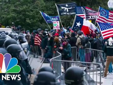 A Closer Look At What Laws Were Broken During The Capitol Hill Riots | NBC News NOW
