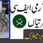Join FC 2021, Pak Army jobs 2021 fc, frontier corps jobs 2021, Online Apply