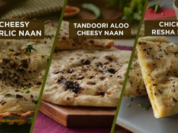 3 Perfect Naan recipes By Food Fusion