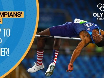 Improve your High Jump ft. Erik Kynard Jr. | Olympians' Tips