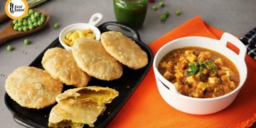 Matar Kachori & Paneer Tarkari Recipe By Food Fusion