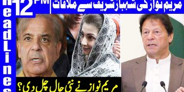 Maryam Nawaz Meets Shehbaz Sharif In Court | Headlines 12 PM | 16 January 2021 | Dunya News | HA1F