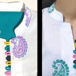 New Collar Neck Design / Placket / Loops / Easy Cutting and Stitching (neck design) 3