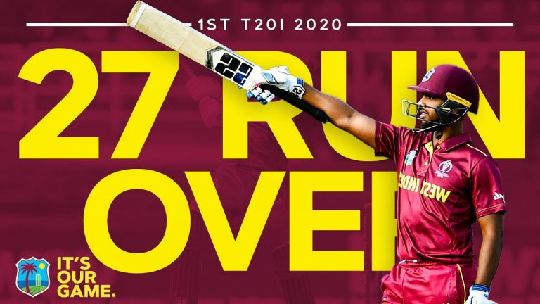 Pooran & Rutherford Combine for 27 Run Over! | West Indies v Ireland 1st T20I 2020