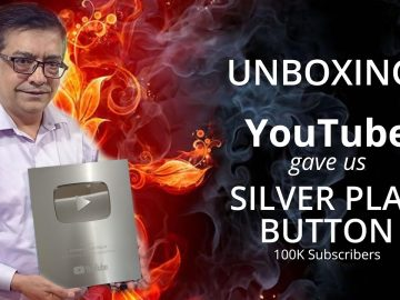 YouTube Gave us SILVER PLAY BUTTON 🔥🔥🔥 | Unboxing | Hakeem Shah Nazir 5