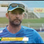Dillon Du Preez, reflects on first week at camp and looking forward to the start of the series