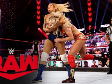 Charlotte Flair vs. Lacey Evans: Raw, Jan. 11, 2021