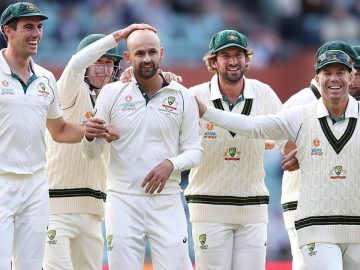 Why the Australian players love Nathan Lyon