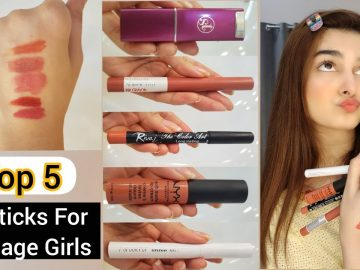 Top 5 Lipsticks For Teenage Girls    Affordable & Fresh Colours 13
