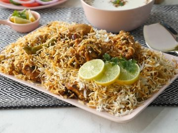 Hyderabadi Restaurant Style Biryani Recipe By Food Fusion