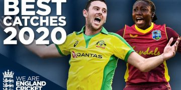 Best Catches in 2020!   Ft. Fakhar, Taylor, Hazlewood & more!   England Cricket