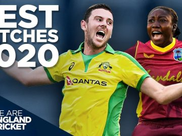 Best Catches in 2020! | Ft. Fakhar, Taylor, Hazlewood & more! | England Cricket
