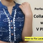 Collar Kurti Neck Design With V Placket || Neck Design || Easy cutting and stitching 3