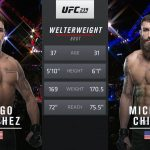 Fight Island 8 Free Fight: Michael Chiesa vs Diego Sanchez