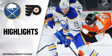 NHL Highlights | Sabres @ Flyers 1/19/21