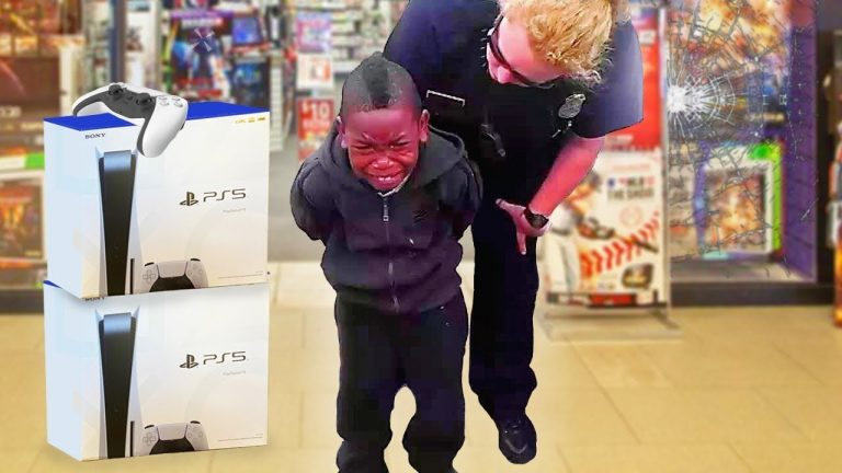 kid caught STEALING PS5.. (BIG MISTAKE) 1