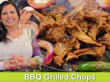 Sizzling BBQ Grilled Chops Recipe in Urdu Hindi - RKK