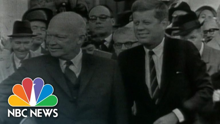 Presidential Transition Meetings Through The Years   NBC News NOW