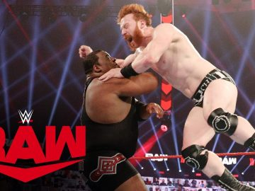 Keith Lee vs. Sheamus: Raw, Jan. 11, 2021