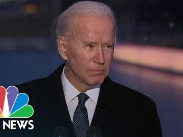 Joe Biden Honors Covid Victims In Nationwide Memorial | NBC News