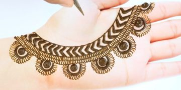 New Easy Stylish Mehndi design - Simple Mehndi design for hands - Beautiful Mehandi ka design 22