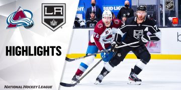 NHL Highlights | Avalanche @ Kings 01/19/21