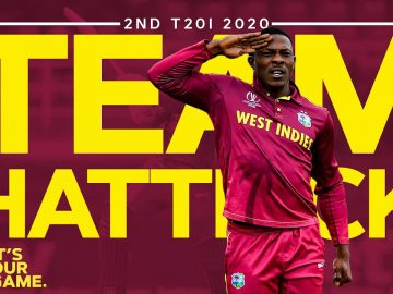 West Indies Close the Show With a Team Hattrick! | West Indies v Ireland 2nd T20I 2020