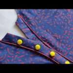 Latest and Simple V Placket Kurti Front Neck Design Cutting and Stitching | V Placket Neck Design 1