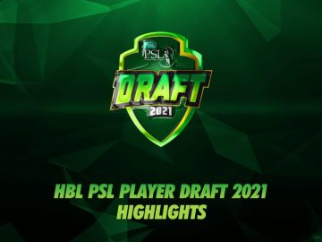 HBL PSL Player Draft 2021 Highlights
