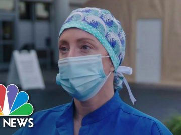 California ICU Nurse: 'We Are Working In A Complete Battlefield' | NBC News NOW