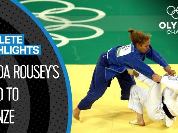 Ronda Rousey 🇺🇸 The 1st US-American to Win an Olympic Medal in Women's Judo | Athlete Highlights 3