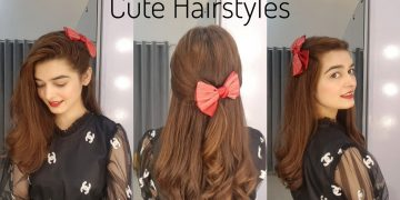 Cute Hairstyles For Girls || 3 Quick & Easy Hair Tutorialsz 4