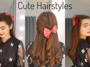 Cute Hairstyles For Girls || 3 Quick & Easy Hair Tutorialsz 6